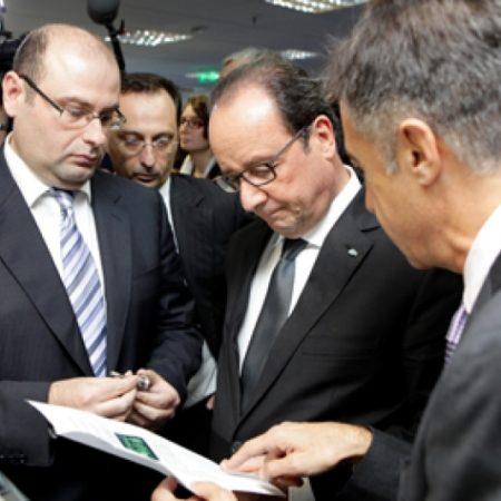 Visit of French President François Hollande