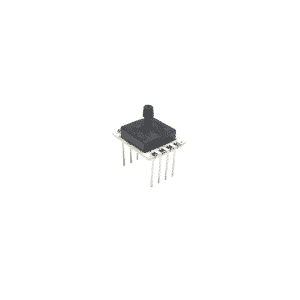 silicon capacitive pressure sensor for medical, industrial and hvac applications