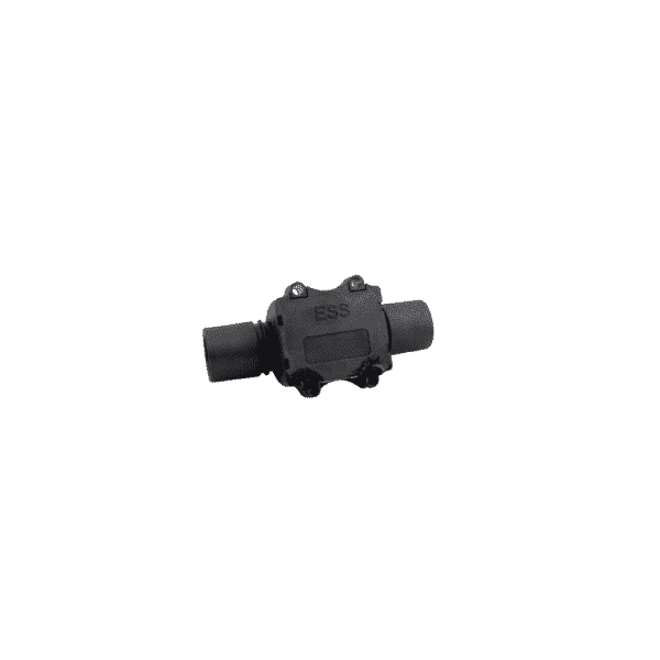 inline gas flow sensor for medical applcations