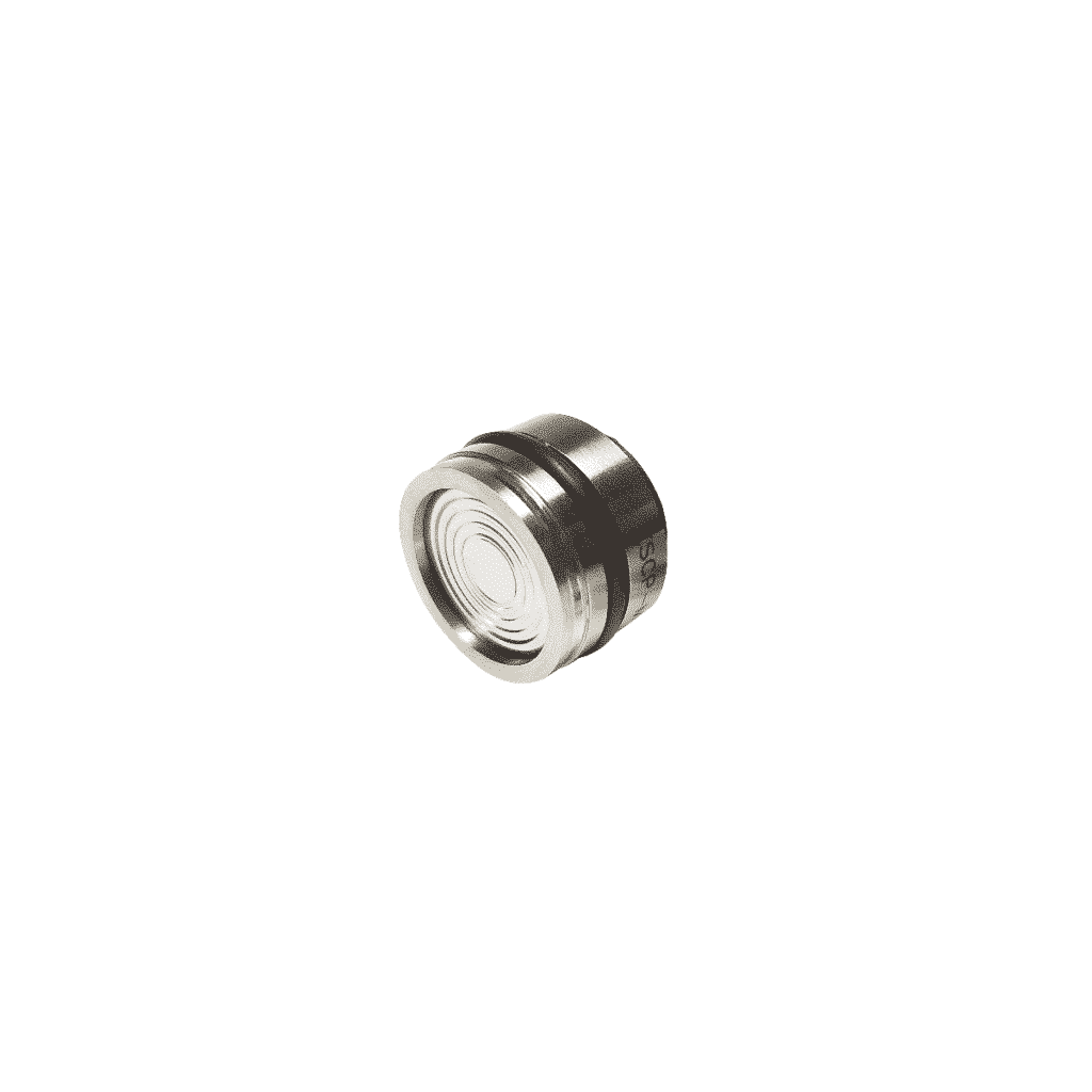 medium isolated pressure sensor for industrial and aerospace applications