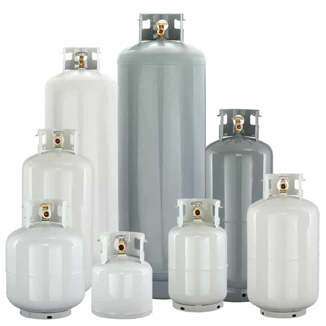 propane gas tanks, cylinders and bottles